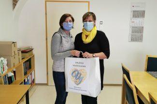 donacija otroških maske Društvo Viljem Julijan